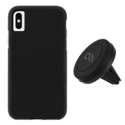 Case-Mate Car Case with Vent Mount Pack iPhone Xs Max - Black