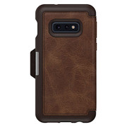 OtterBox Strada Folio Case Samsung Galaxy S10e - Espresso