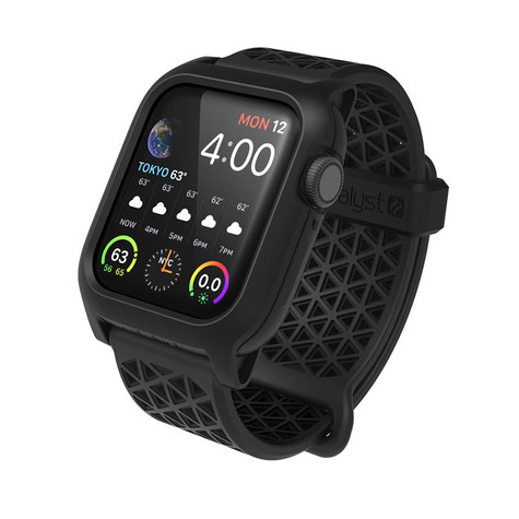 timeless design e2c76 40373 Catalyst Impact Protection Case Apple Watch Series 4, 40 mm - Stealth Black