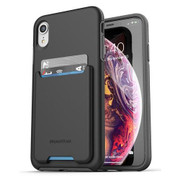 Encased Phantom Wallet Case iPhone XR - Black