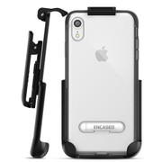 Encased Reveal Case iPhone XR with Belt Clip Holster - Grey