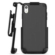 Encased Nova Case iPhone XR with Belt Clip Holster - Black
