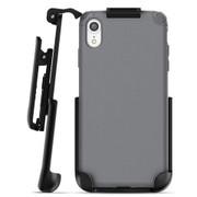 Encased Nova Case iPhone XR with Belt Clip Holster - Grey
