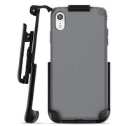 Encased Nova Case iPhone XR with Belt Clip Holster - Grey