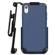 Encased Nova Case iPhone XR with Belt Clip Holster - Blue