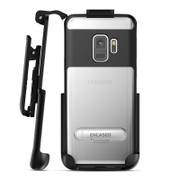 Encased Reveal Case Samsung Galaxy Note 9 with Belt Clip Holster - Black