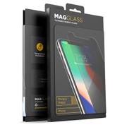 Encased MagGlass Privacy Shield Tempered Glass Screen Protector iPhone Xs Max
