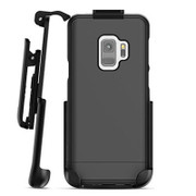 Encased Slimshield Case Samsung Galaxy S9 with Belt Clip Holster - Black
