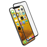 EFM Impact Glass Screen Armour iPhone Xs Max - Clear/Black Frame