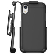 Encased Slimshield Case iPhone Xs Max with Belt Clip Holster - Black