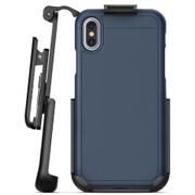 Encased Slimshield Case iPhone Xs Max with Belt Clip Holster - Blue