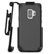 Encased Nova Case Samsung Galaxy S9 with Belt Clip Holster - Black