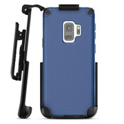 Encased Nova Case Samsung Galaxy S9 with Belt Clip Holster - Blue