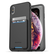 Encased Phantom Wallet Case iPhone Xs Max - Black