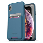 Encased Phantom Wallet Case iPhone Xs Max - Blue
