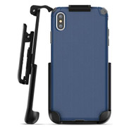 Encased Nova Case iPhone Xs Max with Belt Clip Holster - Blue