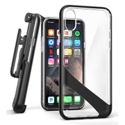 Encased Reveal Case iPhone X/Xs with Belt Clip Holster - Black