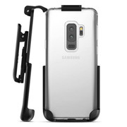 Encased Crystal Case Samsung Galaxy S9+ Plus with Belt Clip Holster - Clear