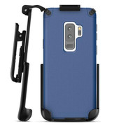 Encased Nova Case Samsung Galaxy S9+ Plus with Belt Clip Holster - Blue