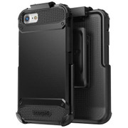 Encased Scorpio R7 Case iPhone 8/7 with Holster - Black