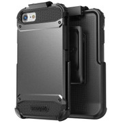 Encased Scorpio R7 Case iPhone 8/7 with Holster - Grey