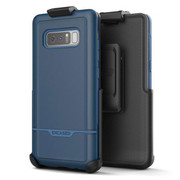 Encased Rebel Case Samsung Galaxy Note 8 with Holster - Blue