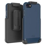 Encased Slimshield Case iPhone 7 with Holster - Blue