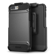 Encased Scorpio R7 Case iPhone 8+/7+ Plus with Holster - Grey
