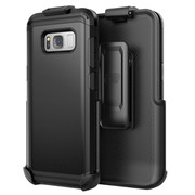 Encased Scorpio R5 Case Samsung Galaxy S8 with Holster - Black