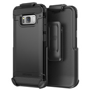 Encased Scorpio R7 Case Samsung Galaxy S8 with Holster - Black