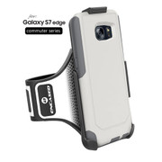 Encased Workout Armband for Otterbox Commuter Samsung Galaxy S7 Edge(case not included)