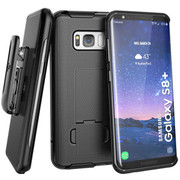 Encased Combo Case Samsung Galaxy S8+ Plus with Holster - Black