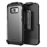 Encased Scorpio R5 Case Samsung Galaxy S8+ Plus with Holster - Gray