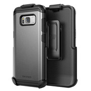 Encased Scorpio R5 Case Samsung Galaxy S8+ Plus with Holster - Gray