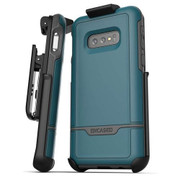 Encased Rebel Case Samsung Galaxy S10e with Belt Clip Holster - Angel Blue