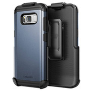 Encased Scorpio R7 Case Samsung Galaxy S8+ Plus with Holster - Blue