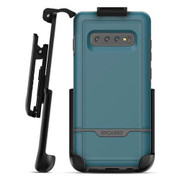 Encased Rebel Case Samsung Galaxy S10+ Plus with Belt Clip Holster - Angel Blue