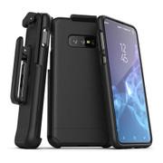 Encased Slimshield Case Samsung Galaxy S10e Belt Clip Holster - Black