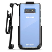 Encased Clear Back Case Samsung Galaxy S10e with Belt Clip Holster - Clear