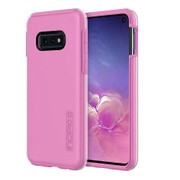 Incipio DualPro Case Samsung Galaxy S10e - Clear/Fuchsia Pink