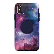 OtterBox Otter + Pop Symmetry Case iPhone X/Xs - Blue Nebula