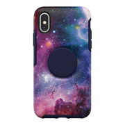 OtterBox Otter + Pop Symmetry Case iPhone X/Xs - Blue Nebula