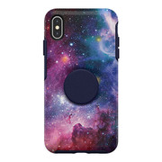 OtterBox Otter + Pop Symmetry Case iPhone Xs Max - Blue Nebula