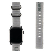 "UAG Apple Watch 44""/42"" Nato Strap - Grey"