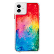 Case-Mate Tough Watercolour Case iPhone 11 - Rainbow Splash