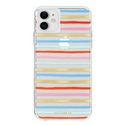 Case-Mate Rifle Paper Case iPhone 11 - Happy Stripe