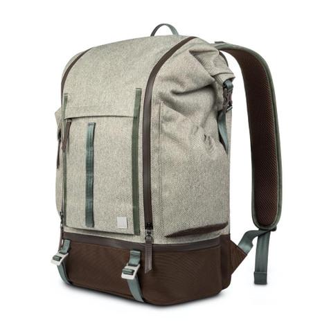 "Moshi Captus Rolltop Backpack up to 15"" Laptop - Beige"