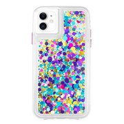 Case-Mate Waterfall Case iPhone 11 - Confetti