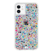 Case-Mate Tough Spray Paint Case iPhone 11 - Rainbow Flecks