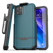 Encased Rebel Case iPhone 11 Pro with Belt Clip Holster - Blue